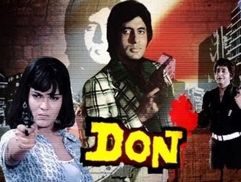 <h3>डॉन</h3><br/>हिंदी सिनेमांच्या इतिहासात कुठल्याच अभिनेत्याने 'डॉन'ची भूमिका इतकी प्रभावी भूमिका साकारलेली नाही. तद्दन व्यावसायिक फिल्म असूनही डॉनला अभिजात कलाकृतीचादर्जा मिळाला तो अमिताभ बच्चनच्या अभिनयामुळे.