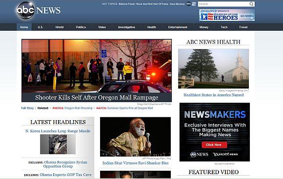 <h3>एबीसी न्यूज, अमेरिका</h3><br/>जगातील संगीताला एकमेकांशी जोडणारा दुवा गेला असल्याचे वृत्त अमेरिकेतील एबीसी न्यूजने दिले आहे.