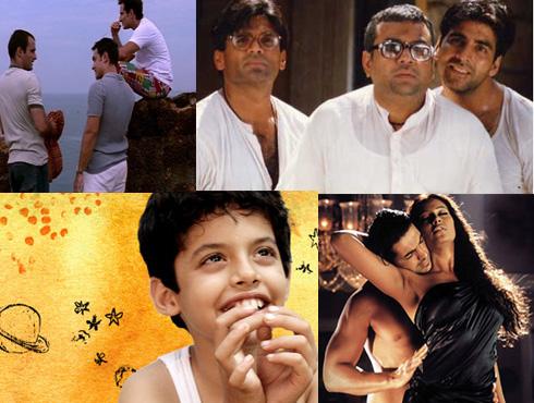 <h3>२०००</h3><br/>भारतीय सिनेसृष्टीतील सर्वांत जास्त विविधता देणारं, नाविन्याने ओतप्रोत भरलेलं दशक म्हणून २००० च्या दशकाकडे पाहिलं जातं. या दशकात भारतीय सिनेमा नव्या उंचीवर जाऊन पोहोचला. मल्टिप्लेक्स संस्कृतीमुळे एकाहून एक भन्नाट प्रयोग सिनेमांमध्ये होऊ लागले. आंतरराष्ट्रीय दर्जाचे भारतीय सिनेमे बनू लागले. कहो ना प्यार है, दिल चाहता है, रंग दे बसंती या सिनेमांतून तारुण्याची स्पंदनं टिपली गेली. लगान, चक दे इंडिया सारख्या सिनेमांतून खेळाचा समावेश सिनेमासाठी योग्य प्रकारे केला गेला. ओमकारा, मकबूल या सिनेमांनी शेक्सपिअरदेखील भारतीय सिनेमात मिसळू शकतो, हे दाखवून दिलं. हेरा फेरी, मुन्नाभाई एमबीबीएस, लगे रहो मुन्नाभाई, ३ इडियट्स यांसारख्या सिनेमांनी नवा ताजा विनोद लोकांसमोर आणला. तारे जमीन पर, पा, गुजारीश सारख्या सिनेमांतून आजारांचे विषयही संयतपणे हाताळले गेले. धूम सारख्या सिनेमांतून हॉलिवूड स्टाइलचं तंत्रज्ञान भारतीय सिनेमांत दिसलं. पेज ३, चांदनी बार यांसारख्या वास्तरवदर्शी सिनेमांतून अकथित जग पडद्यावर अवतरलं. आर्ट फिल्म्सच्या नावाखाली ठराविक लोकांसाठीच बनवले जाणारे सिनेमे अधिकाधिक प्रेक्षक मिळवू लागले आणि भारतीय सिनेमा जागतिक स्तरावर नावाजला जाऊ लागला.