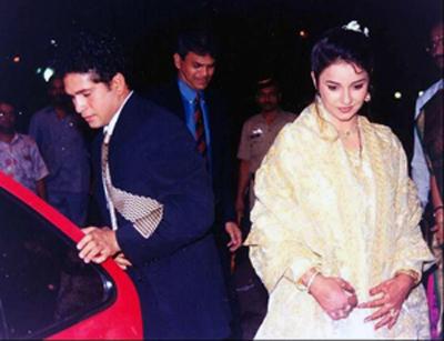 सचिन आणि त्याची पत्नी अंजली