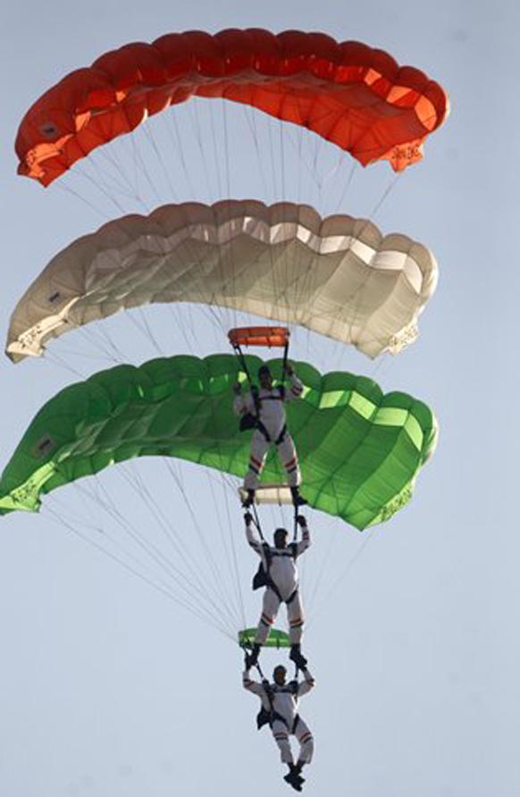 भारतीय हवाई दलाची आकाशी झेप