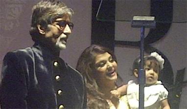 बिग बींच्या वाढदिवसाच्या पार्टीत पहिल्यांदा आराध्या बच्चनची झलक दिसली, सौजन्य- ट्विटर