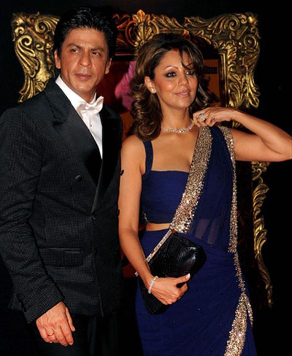 शाहरूख खान आणि पत्नी गौरी खान