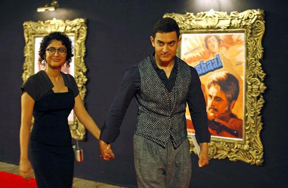 आमिर खान आणि किरण राव