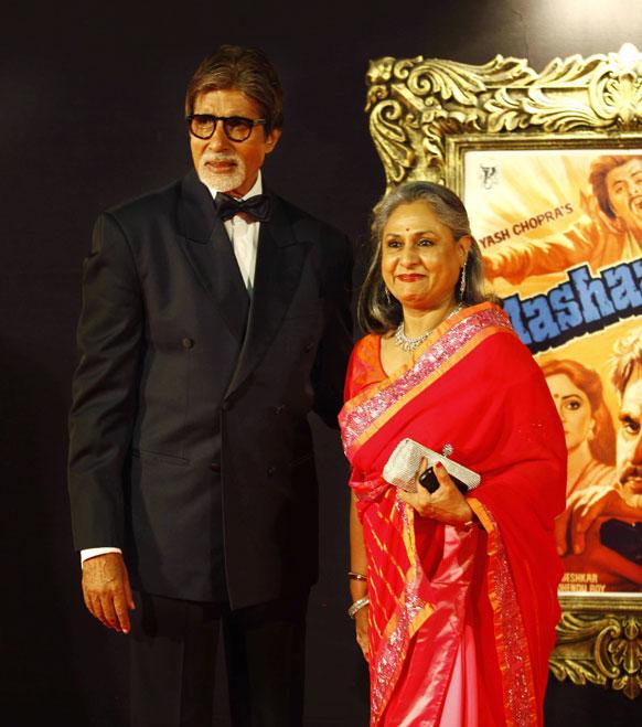 बिग बी अमिताभ आणि जया बच्चन