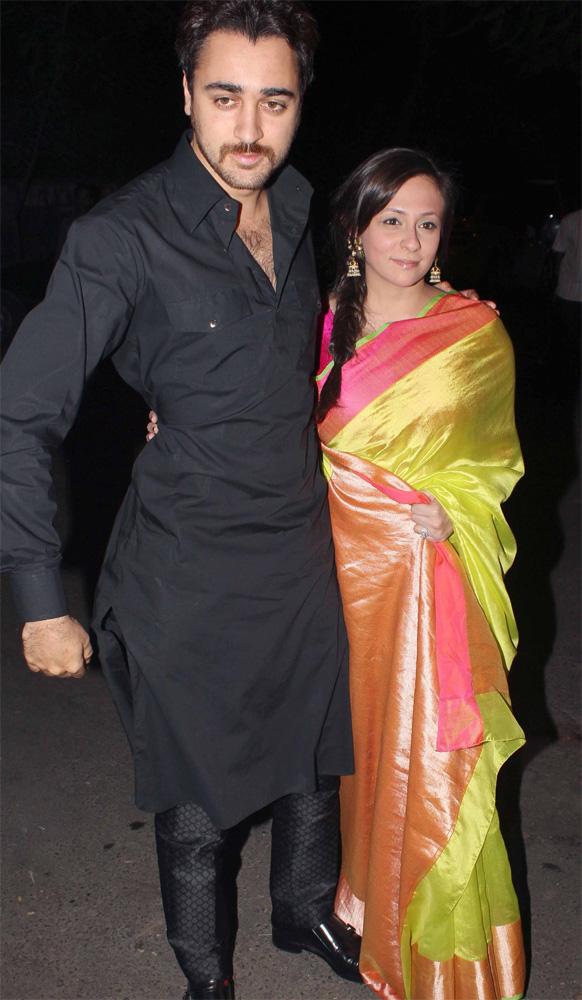 इम्रान खान आणि त्याची पत्नी अवंतिका...