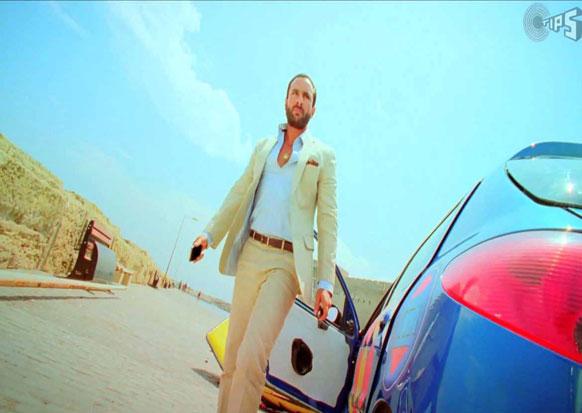 अब्बास मस्तानीचा रेस-२ या चित्रपटात पहिला लूक...सैफ अली खानची स्टाईल