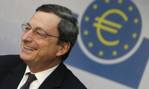 फोर्ब्जच्या यादीत -  युरोपियन सेन्ट्रल बँकेचे अध्यक्ष मारियो ड्राघी ८ व्या क्रमांकावर आहेत