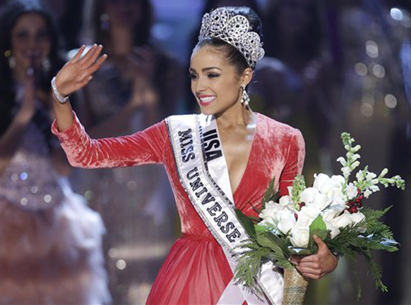 मिस यूएसए असलेली ऑलिविया कुल्पो हिची 'मिस युनिव्हर्स' म्हणून निवड झाल्यानंतर