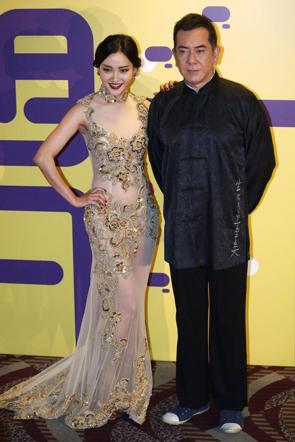 चायनीज अभिनेत्री झि चू चू...