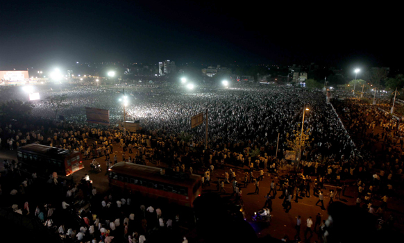 राज ठाकरेंच्या भाषणाला अमरावतीमध्ये गर्दी