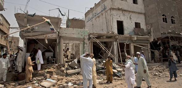 मतदान उधळून लावण्यासाठी दहशतवादी गटाने ११ मे ला पाकिस्तानात बॉम्बस्फोट घडवून आणले