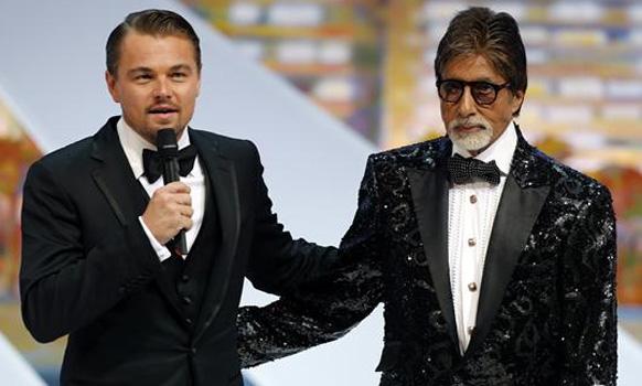 लिओनार्डो दी कॅप्रिओ आणि अमिताभ बच्चन... कान्स फिल्म फेस्टीव्हलच्या उद्घाटनप्रसंगी