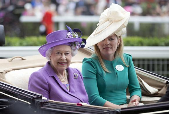 ब्रिटनची राणी एलिझाबेथ द्वितीय