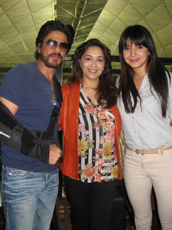 'मकाऊ' मध्ये दिसणार शाहरूख खान, माधुरी दीक्षित नेने आणि अनुष्का शर्मा.