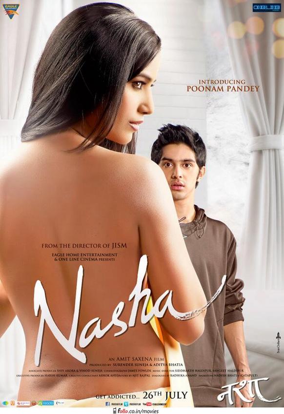 पूनम पांडेच्या  'नशा' या  नव्या चित्रपटाचे पोस्टर
