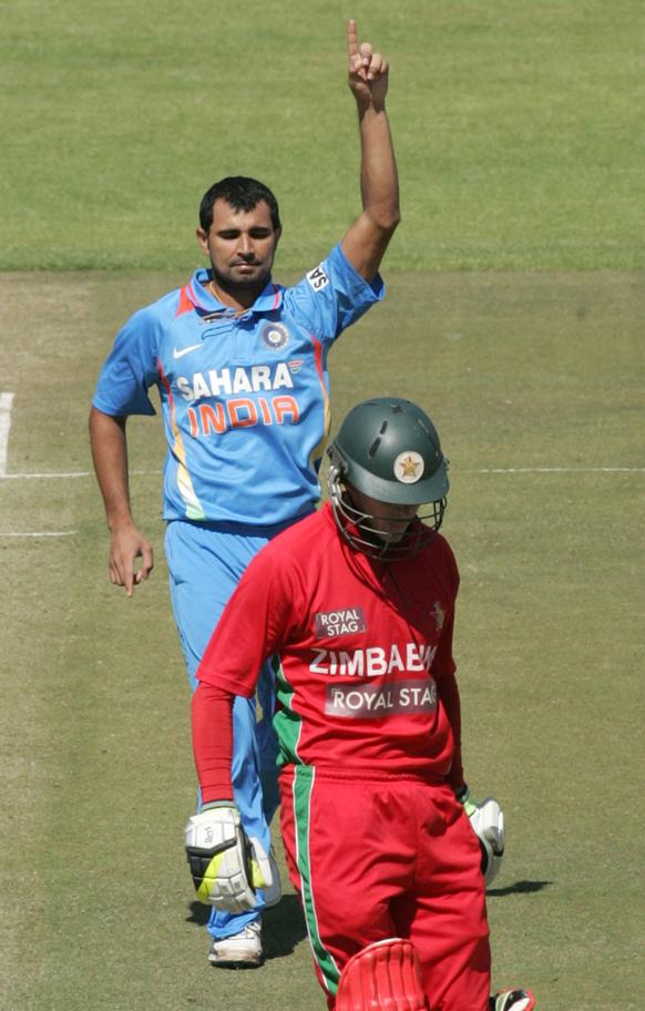 भारतीय गोलंदाजी तेज होत गेल्याने झिंम्बाब्वेला असा तंबूचा रस्ता धरावा लागला