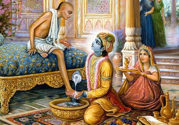मैत्रीचे सुंदर उदाहरण म्हणजे सुदामा आणि कृष्ण, गरीब सुदामावर उपचार करतांना