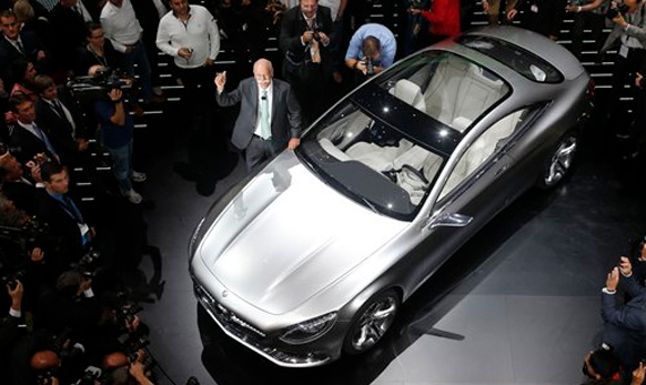 मर्सिडीजची नवीन  Mercedes S-Class Coupe concept