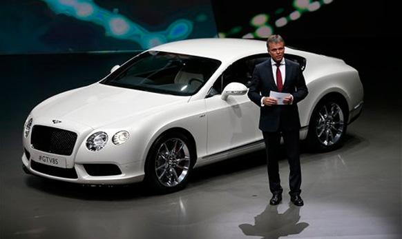 बेनल्टीची नवीन Bentley GT V8S