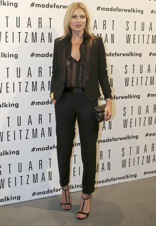 ब्रिटीश सुपर मॉडेल केट मोस, मिलान फॅशन विक, इटली