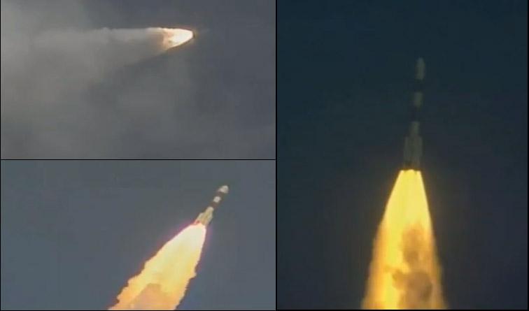 पीएसएलव्ही सी 25 रॉकेटच्या मदतीनं 'मंगळयान' मंगळाच्या दिशेनं  झेपावल्यानंतर