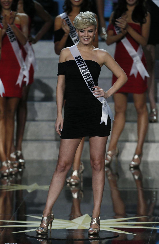 मिस युनिव्हर्स २०१३ स्वित्झर्लंडची स्पर्धत