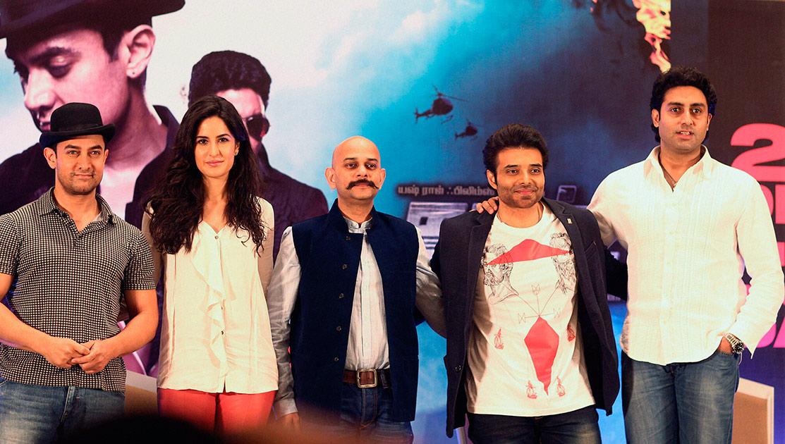 आमिर खान, कतरिना कैफ, उदय चोप्रा आणि अभिषेक बच्चन... धूम ३