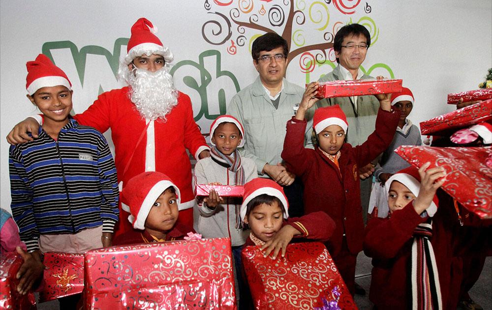 मारुती सुझूकीनं साजरा केलेला ख्रिसमस... दिल्ली