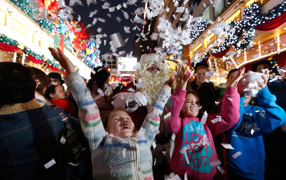हाँगकाँगमध्ये लहानग्यांचं ख्रिसमस सेलिब्रेशन