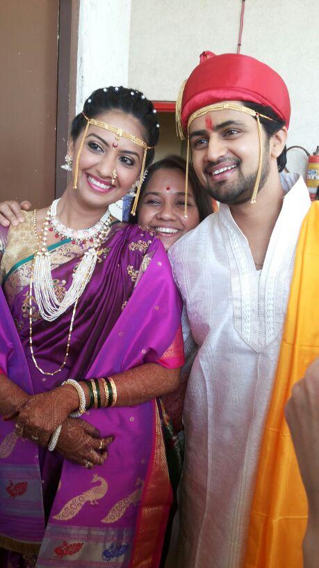 होणार सून मी... मालिकेतील प्रसिद्ध कलाकार श्री-जान्हवीचं यांचं आज पुण्यात खरंखुरं लग्न झालं...