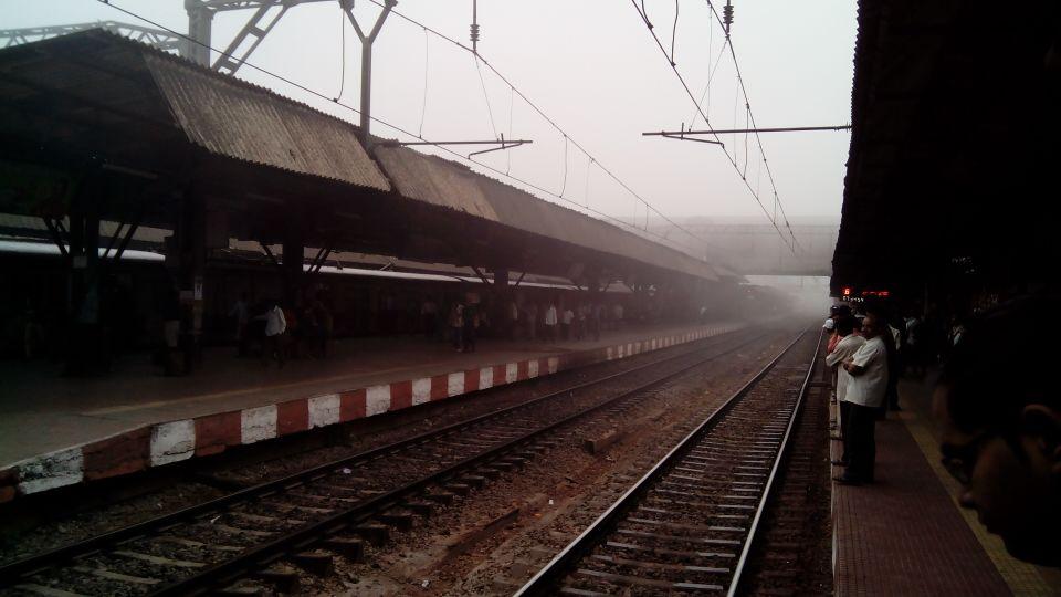 मुंबई-नाशिक महामार्गावरही धुक्याची चादर होती