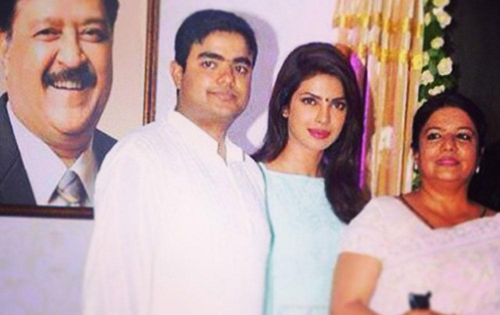 अभिनेत्री प्रियांका चोप्रा...