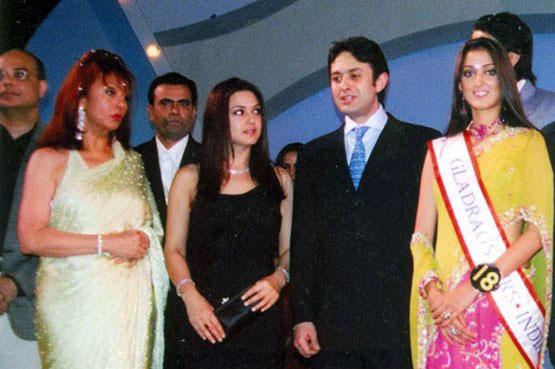 प्रीती झिंटा, नेस वाडिया आणि मौरिन वाडिया