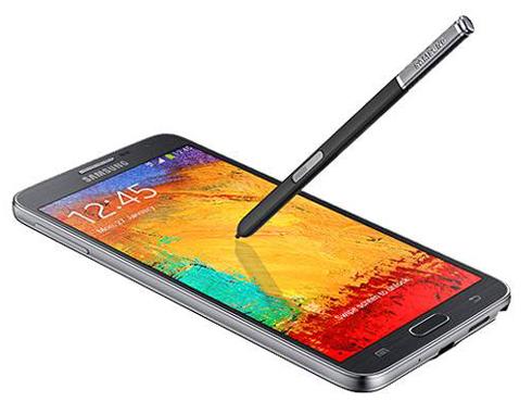 <h3>सॅमसंग गॅलक्सी नोट ३ निओ (Samsung Galaxy Note 3 neo)</h3><br/>पहिली किंमत:  ३८,९९० रुपये<br>आताची किंमत: ३३,९९९ रुपये<br><br>सॅमसंग गॅलक्सी नोट ३ निओमध्ये १२८०x७२० पिक्सल्स रेजॉलूशनचा ५.५ इंच सुपर एमोलेड एचडी डिस्प्ले स्क्रिन आहे. यामध्ये १.६ गीगाहर्ट्सचा क्वॉड-कोर किंवा हेक्सा-कोर प्रोसेसर <br><br>(१.७ गीगाहर्ट्स ड्यूल-कोर कोर्टेक्स A१५ + १.३ गीगाहर्ट्स क्वॉड-कोर कोर्टेक्स A७) आणि २ जीबी रॅम आहे. याची ऑपरेटिंग सिस्टम ऐंड्रॉयड ४.३ (जेली बीन) आहे.<br>यामध्ये बीएसआई सेंसर आणि एलईडी फ्लॅश सोबतच ८ मेगापिक्सल्स कॅमरा आहे. जो १०८० पिक्सल्स व्हिडिओ देखील शूट करु शकतो. यामध्ये २ मेगापिक्सल्सचा पुढचा कॅमेरा आहे. <br><br>यामध्ये 3G आहे. एचएसपीए+, वाई-फाई, ब्लूटूथ (४.०), जीपीएस/ GLONASS आणि एनएफसी देखील आहे. यात १६ जीबी इंटरनल मेमरी आहे आणि ६४ जीबी पर्यंत मेमरी कार्ड <br><br>वाढवण्याची क्षमता आहे. या सोबत एस पेन स्टासलस देखील उपलब्ध आहे.