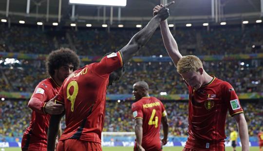 फिफा वर्ल्ड कप : अमेरिका बाहेर, बेल्जियम, अर्जेन्टीनाचा विजय