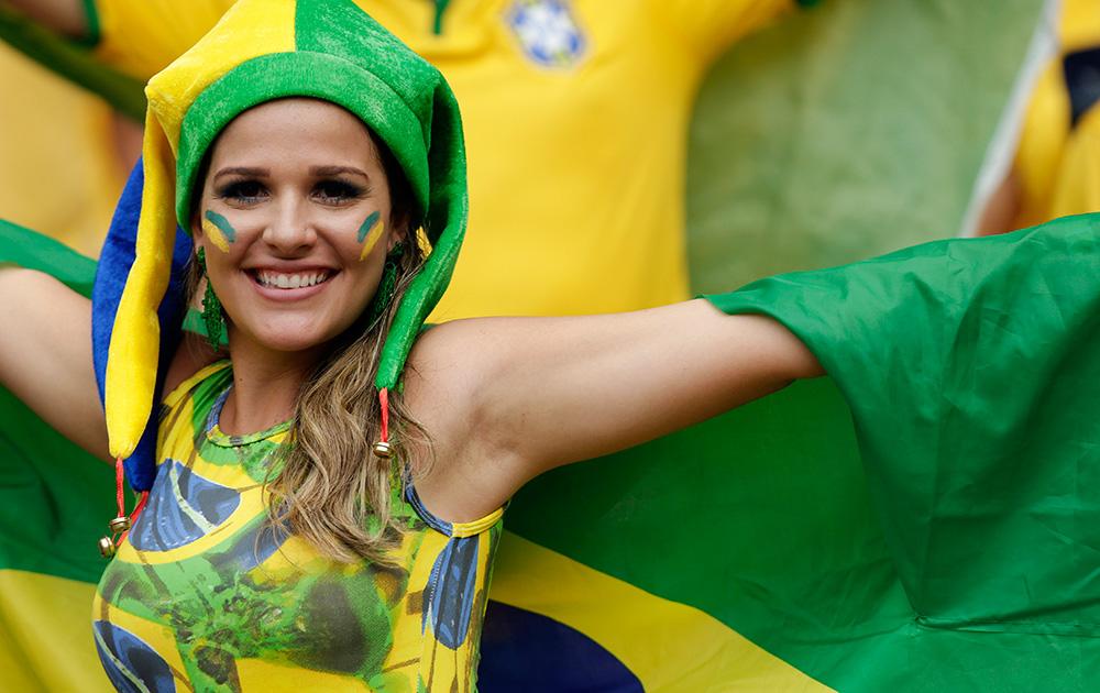 ब्राझीलची एक चाहती
