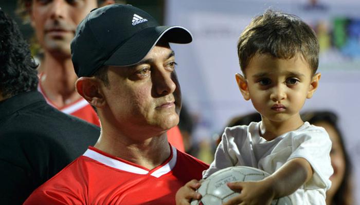आझाद खान आई -वडील : किरण राव आणि आमिर खान जन्म - १ डिसेंबर २०११
