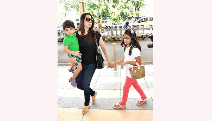 किया आणि समायरा कपूर आई -वडील : करिश्मा कपूर आणि संजय कपूर  समायरा - जन्म- 11 मार्च 2005   कियान - जन्म- 12 मार्च, 2010