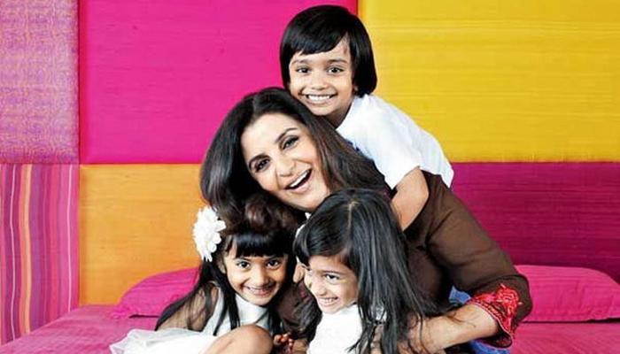 अन्या, दिवा आणि जार खान आई -वडील : फराह खान आणि शिरीष कुंदर जन्म- 2 फेब्रुवारी 2008 (तिळं)