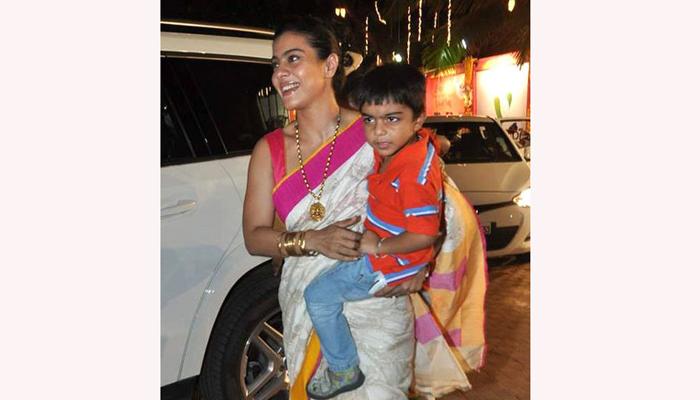 युग देवगन आई -वडील : काजोल देवगन आणि अजय देवगन जन्म - 13 सप्टेंबर 2010