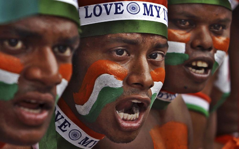 भारताचा 68 वा स्वातंत्र्यदिन... उत्साह