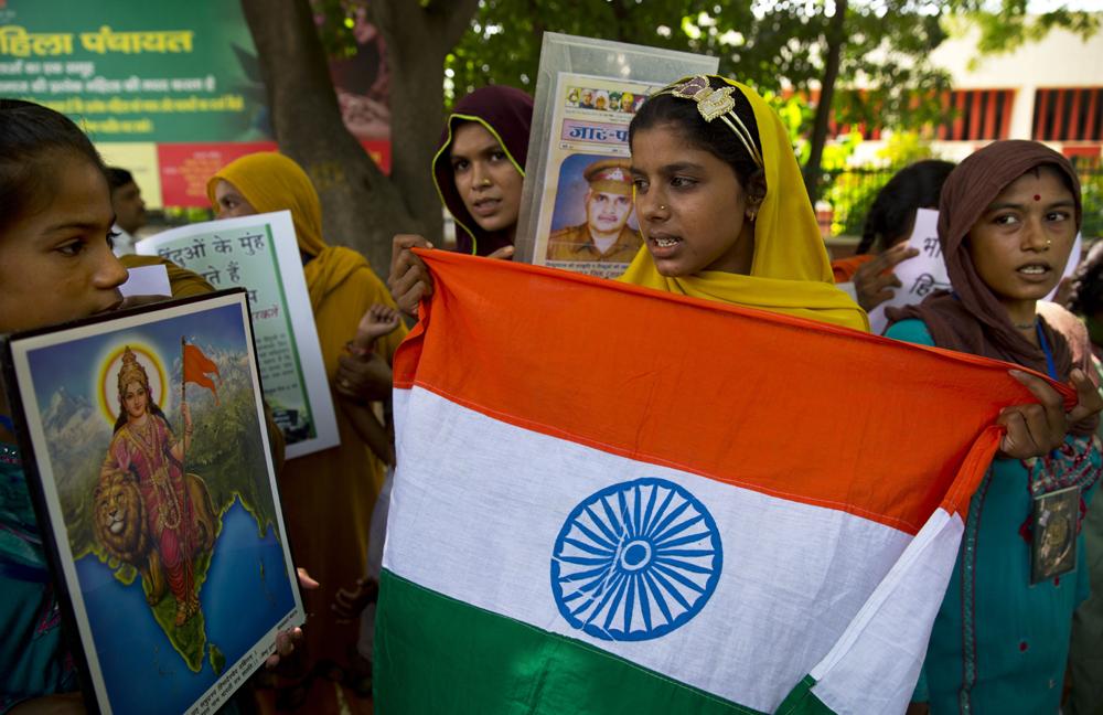 पाकिस्तानमधील हिंदू निर्वासितांनी पाकिस्तानचा निषेध केला
