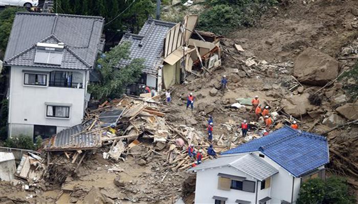 आपातकालीन सेवा पुरवणाऱ्या दलाच्या एएफपीने सांगितलं की, असे अनेक ठिकाण चिन्हांकित केली गेली आहेत जेथे अनेक लोकं जिवंत गाडले गेल्याची शंका आहे.