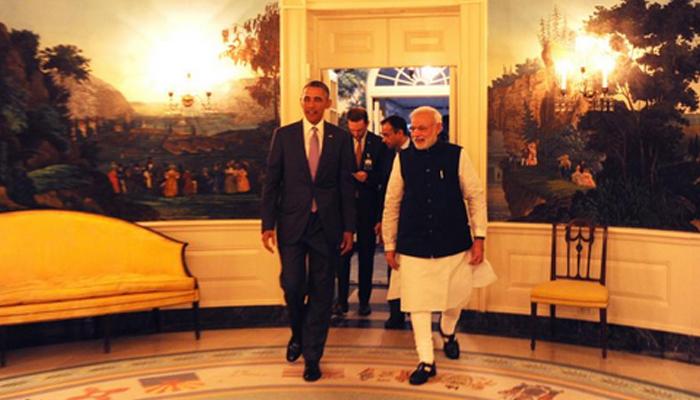 'केम छो…' म्हणत ओबामांनी केलं मोदींचं स्वागत!