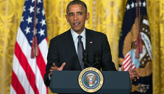 बराक ओबामा तीन दिवसांच्या दौऱ्यासाठी भारताकडे रवाना...