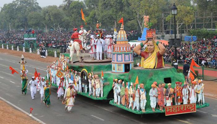 दिल्लीत राजपथावर दुमदुमला माऊली..माऊलीचा गजर
