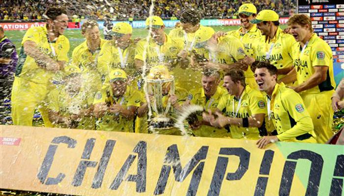 ऑस्ट्रेलिया पाचव्यांदा वर्ल्ड चॅम्पियन