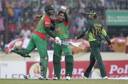 बांग्लादेशने १६ वर्षांनंतर पाकिस्तानला चारली धूळ, ७९ रन्सने विजय