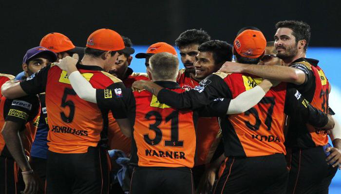 सनरायजर्स हैदराबाद आयपीएल चॅम्पियन